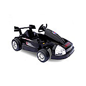 6V Go Kart Style Ride On Car Black