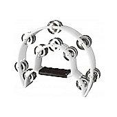 A-Star TAB-1 Cutaway Tambourine - White