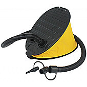 Heavy Duty 3 Litre Foot Pump Inflator - Lightweight - Yellowstone