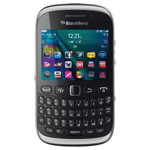 Orange BlackBerry® Curve™ 9320 Black