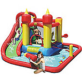 Jump and Splash Funland Bouncy Castle