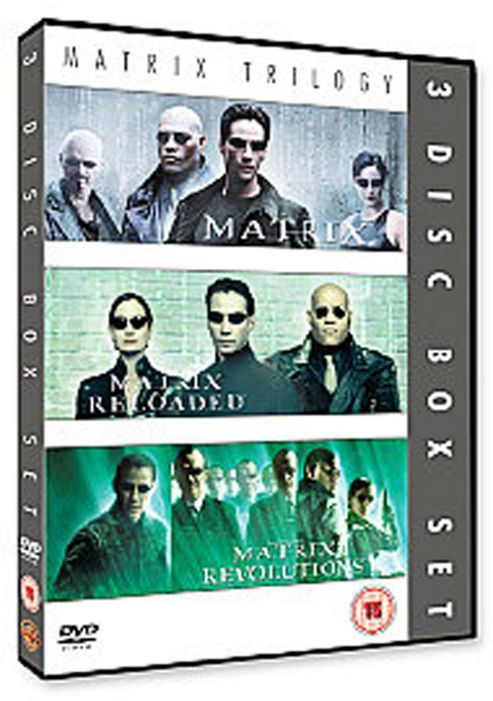 The Matrix/Matrix Reloaded/Matrix Revolutions (DVD Boxset)