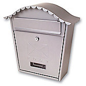 Sterling Classic Silver Metal Post Box