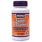 Now Super Enzymes 90 Tablets