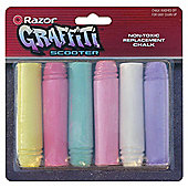 Razor Graffiti Replacement Chalks 6 Pack
