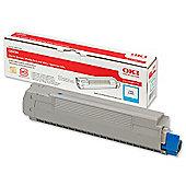 OKI Toner Cartridge for C8600 Colour Printers (Cyan)