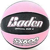 Baden SX Series Indoor / Outdoor Coloured Basketballs Sizes 6