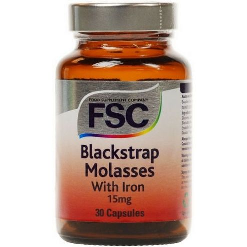 Fsc Blackstrap Molasses Iron - 50 New Formulation 30 Capsules