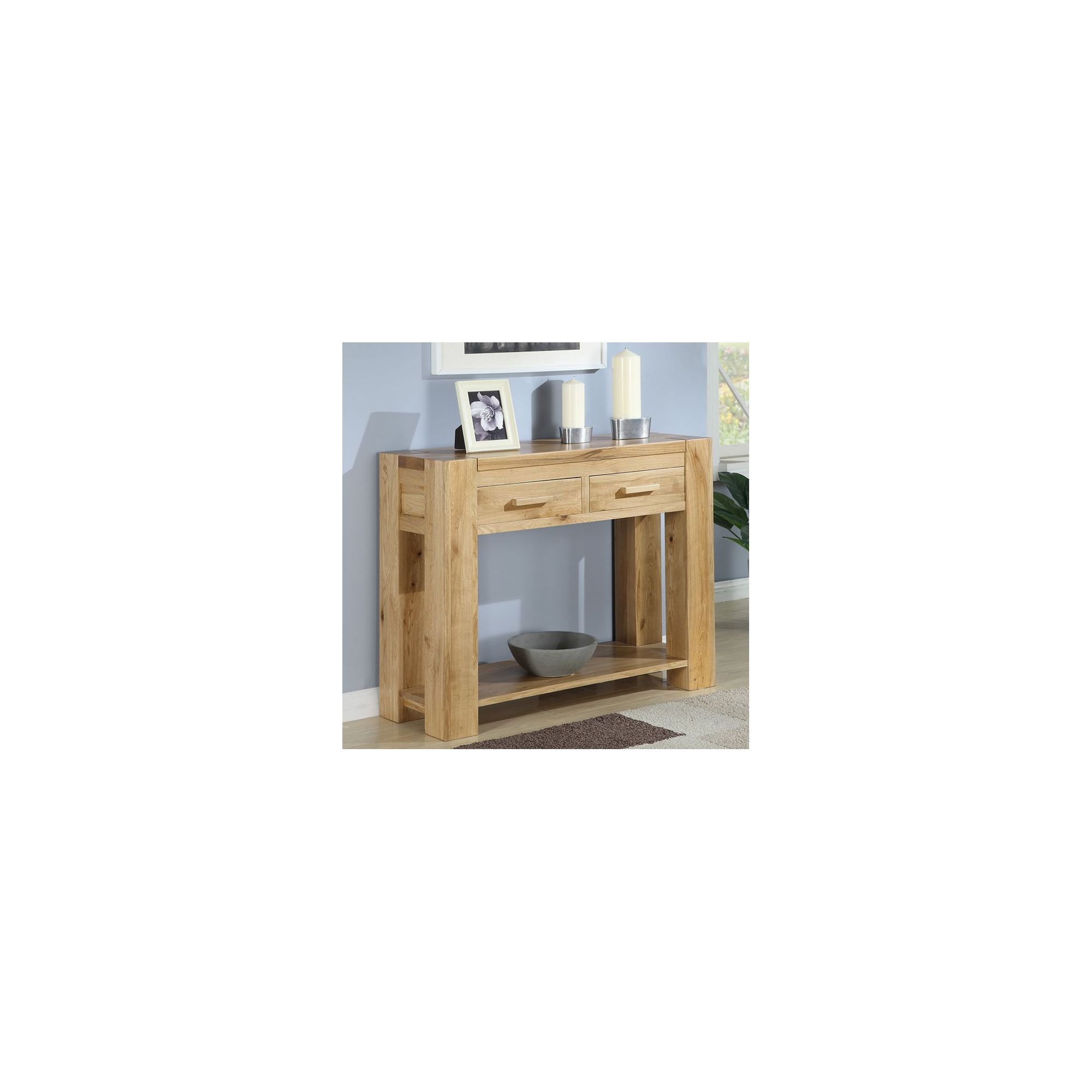 Shankar Enterprises Oslo Console Table at Tesco Direct