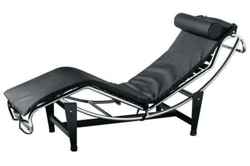 Premier Housewares Lounger Chair with Chrome Frame