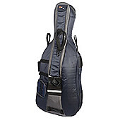 Traveller Cello Full Size Gig Bag - 3 Tone Blue