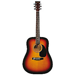 Martin Smith Full Size Dreadnought Acoustic Guitar - Sunburst