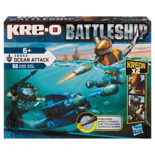 Kre-O Battleship Scuba Sled