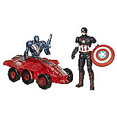Marvel Avengers Age of Ultron Captain America vs. Sub-Ultron 002
