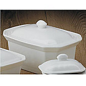 CKS Porcelain Large White Terrine