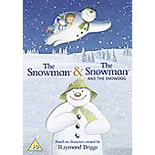 Snowman & The Snow Dog / Snowman Double Disc (DVD Boxset)