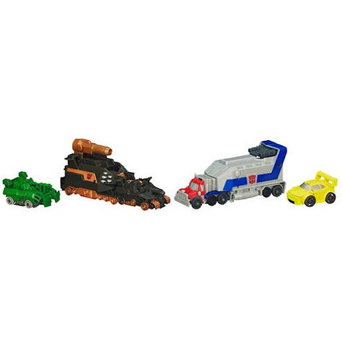 Transformers Ultimate Bot Shots Battle Set