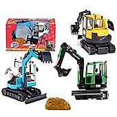 Majorette Kids Mate Mini Digger
