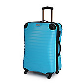 Linea Shell Aqua 4 Wheel Hard Medium Spinner