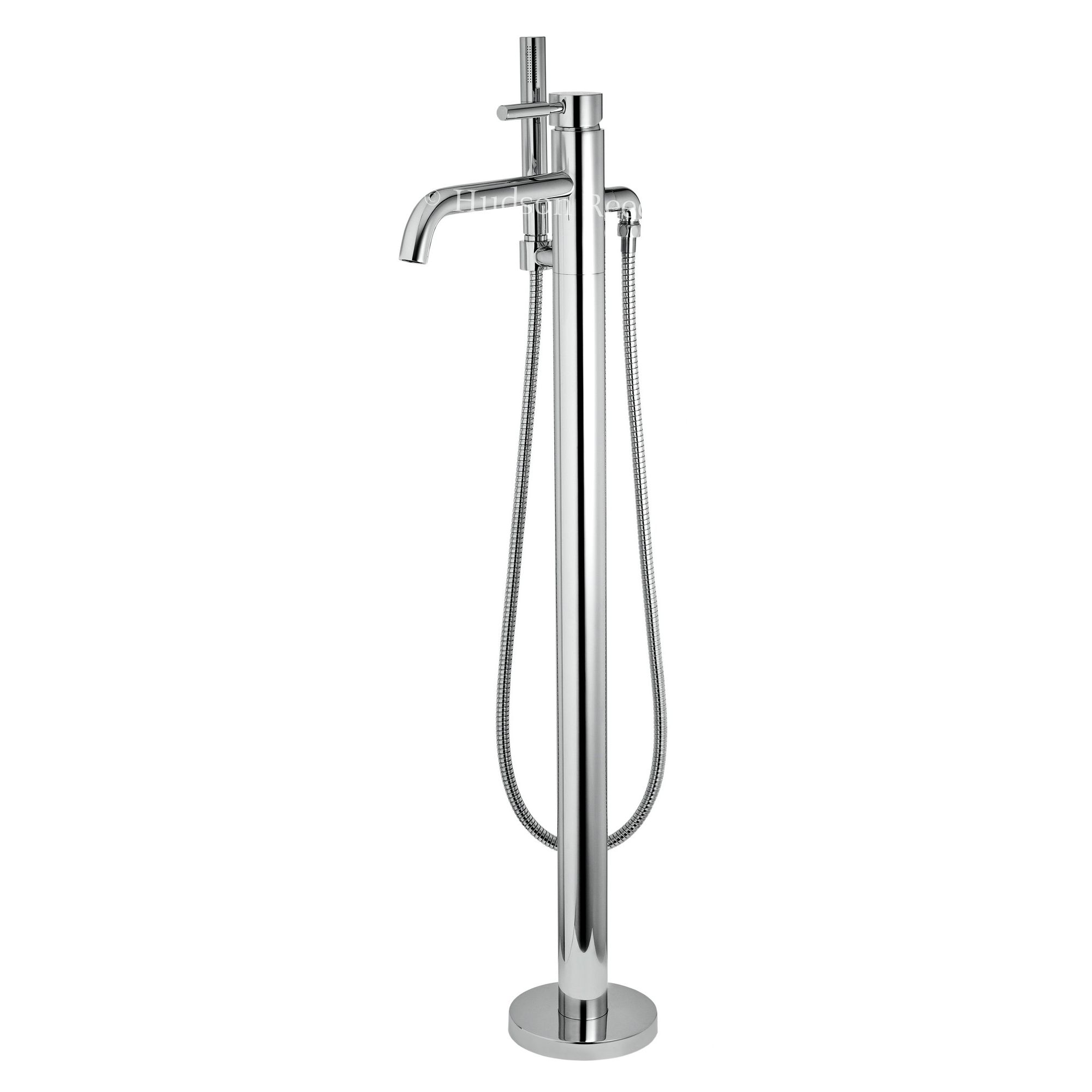 Hudson Reed Free Standing Bath Shower Mixer in Chrome at Tesco Direct