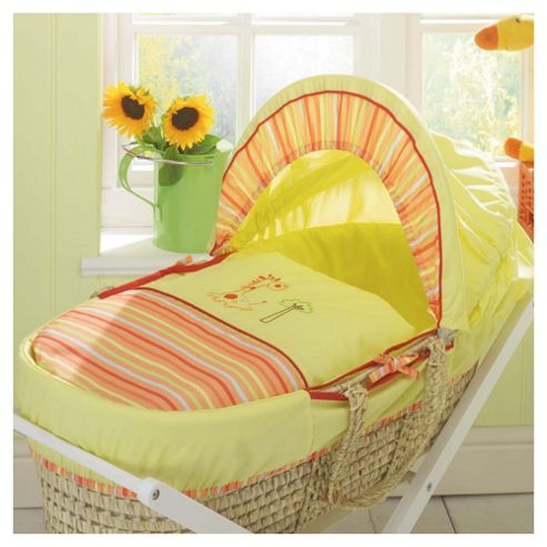 Lollipop Lane Zig Zag Zoo Moses Basket