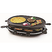 Raclette Grill - Gourmet Raclette Party Grill Set for 8 persons