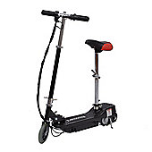 Homcom Electric E Scooter Ride on Battery 24V Kids Toy Black