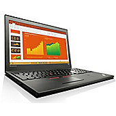 "Lenovo ThinkPad T560 15.6"" Intel Core i5 Windows 7 Pro 4GB RAM 8GB SSD + 500GB Laptop Black"