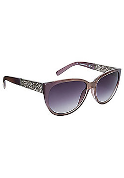F&F Filigree Detail Cat Eye Sunglasses