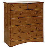 Scandi Pine Two Over Four Chest of Drawers