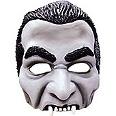 Halloween Dracula Mask - Half Face