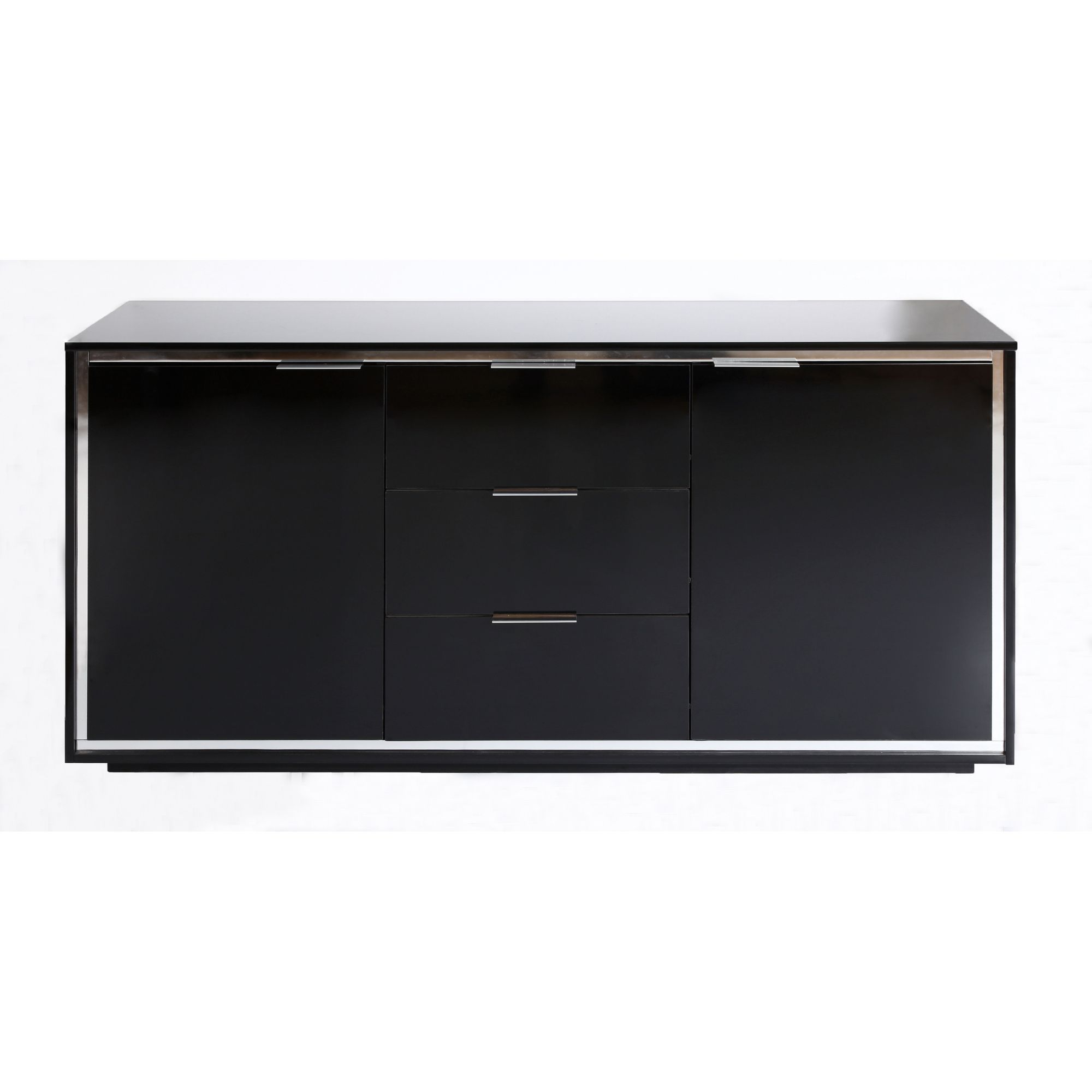 Parisot Bright Sideboard in Black at Tesco Direct