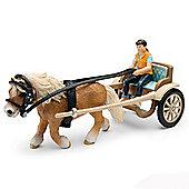 Schleich Pony Carriage 42040