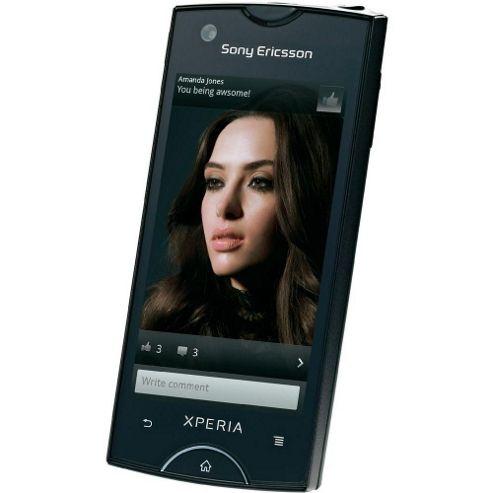 Sony Ericsson Xperia Ray (Black) - Sim Free