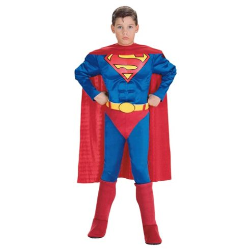 Rubies UK Deluxe Muscle Chest Superman- S