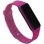 Archon Touch Pink Smart Fitness Wristband OLED Touchscreen Activity Tracker