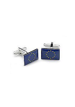EU Flag Novelty Themed Cufflinks