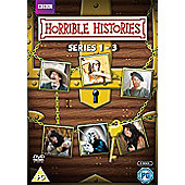 Horrible Histories Series 1-3 DVD