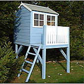 4ft x 6ft Wooden Tower Playhouse 4 x 6