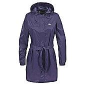 Trespass Ladies Compac Mac Waterproof Packaway Coat - Purple