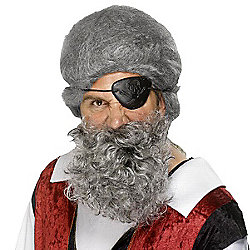 Smiffy's - Pirate Beard - Grey