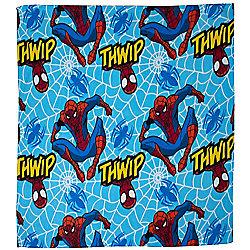 Spiderman Fleece Blanket - Thwip