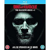 Sons Of Anarchy Season 1-7 Box Set Blu-Ray