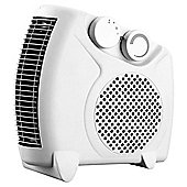 Fine Elements Flat Fan Heater, 2000W - White