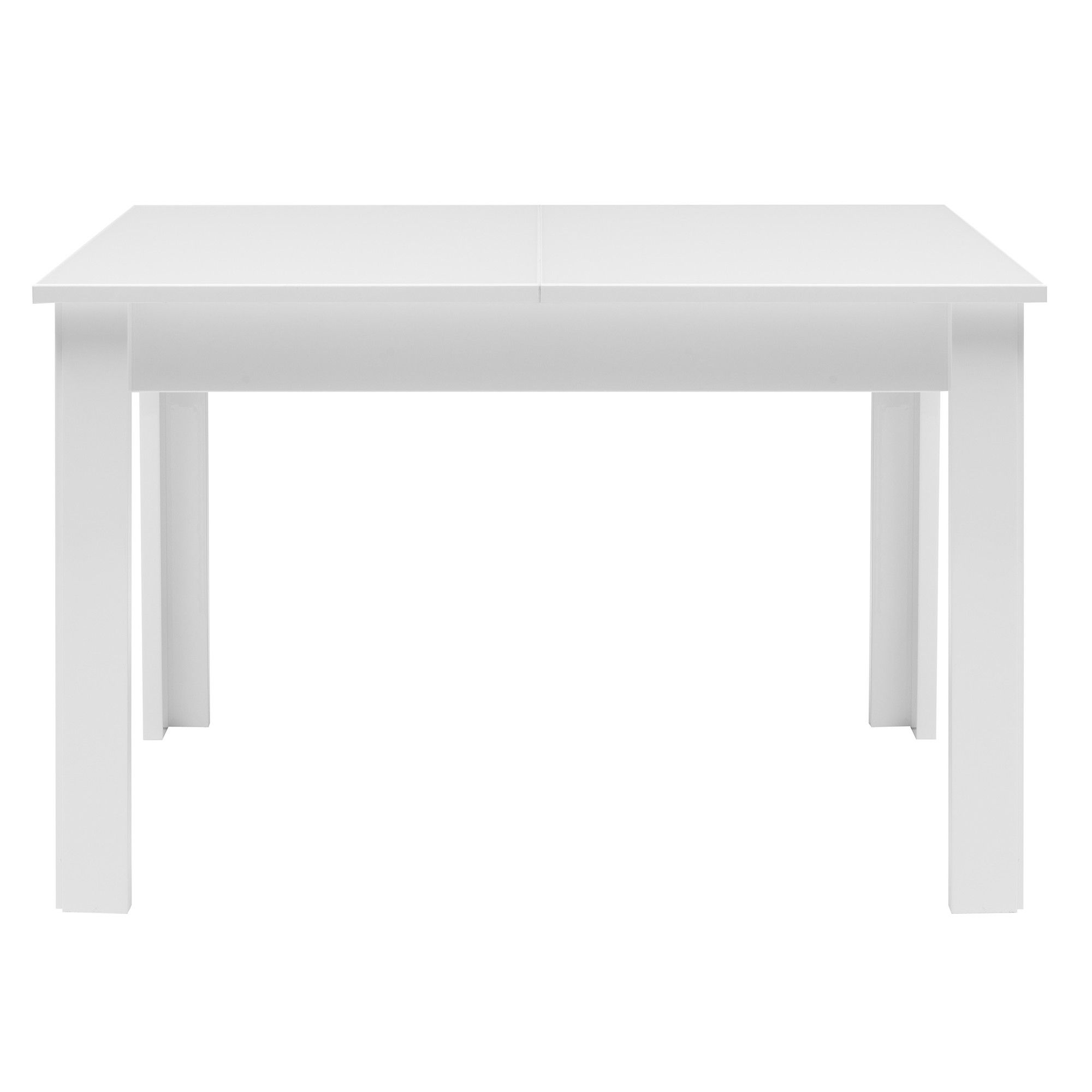 Caxton Manhattan Table with 6 Chairs in White Gloss at Tesco Direct