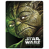 Star Wars : Attack Of The Clones Blu- ray Steelbook Blu-ray