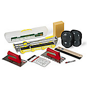 Rubi Tools Ceramic Wall & Floor Tiling Kit With Tile Cutter