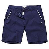 Craghoppers Ladies Kiwi Pro Stretch Shorts - Blue