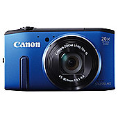 "Canon Powershot SX270 Digital Camera, Blue, 12.1MP, 20x Optical Zoom, 3"" LCD Screen"