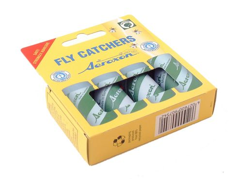 Aeroxon 91754 Sticky Flypapers X4